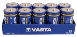 Varta Industrial High Energy - D - 10-pk